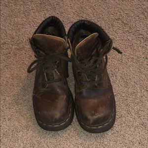 Doc Martens Brown Boots
